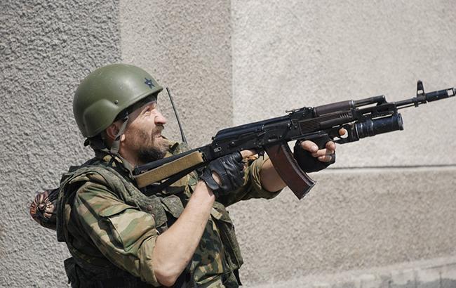 Фото: бойовики на Донбасі (twitter.com/dubovoyslavyans)
