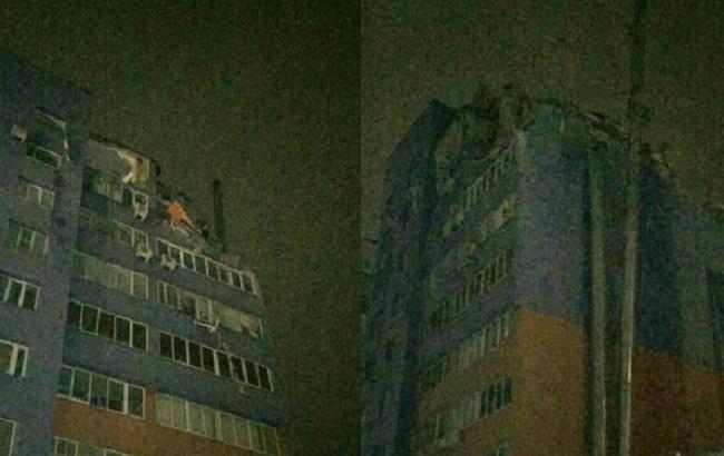 Фото: последствия взрыва дома в Рязани
