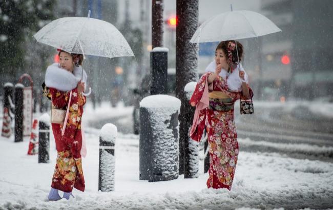 Фото: Снег в Токио (ign.com)