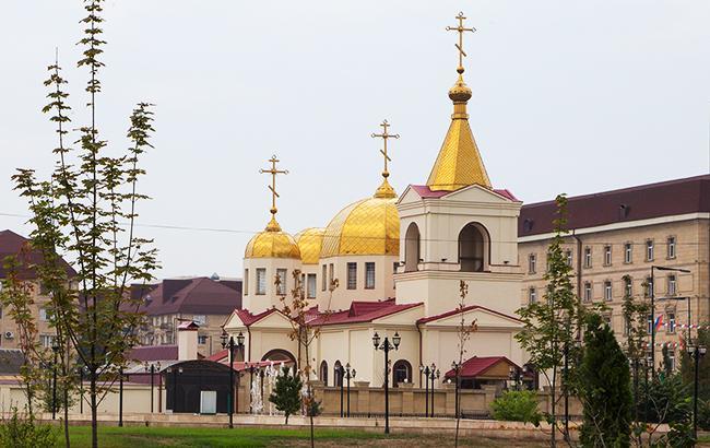 Фото: церква у Грозному (Commons.Wikimedia.org)