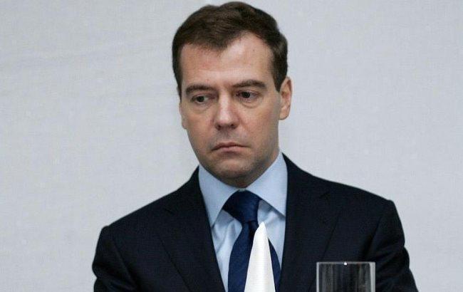 Фото: Дмитрий Медведев и компот
