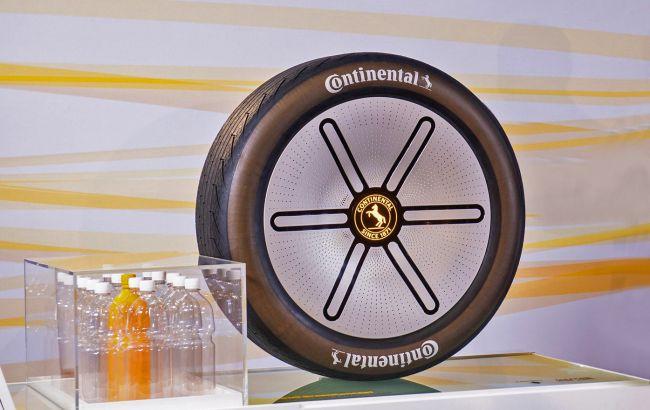 Сделаны из одуванчиков и пластиковых бутылок: Continental показала шины будущего