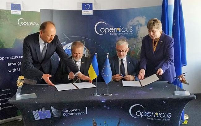 Україна та ЄС підписали угоду про співпрацю у космічній сфері