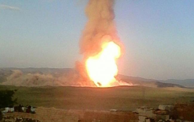 У Туреччині на кордоні з Іраном підірвали газопровід