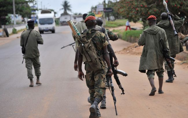 Дембель по-африкански: группа солдат захватила город вКот-д'Ивуаре