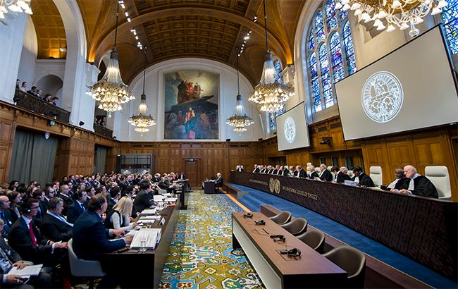 Фото: суд Гааги  ввел меры против России (UN Photo/ICJ-CIJ/Frank van Beek)