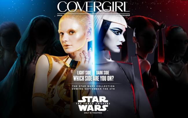 """Covergirl создала линию косметики, посвященную """"Звездным войнам"""""""