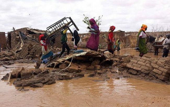 Фото: повінь в Судані