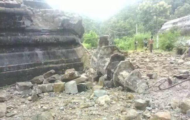 Фото: землетрясение в Мьянме