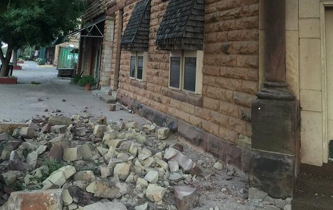 Вамериканском штате Оклахома произошло землетрясение магнитудой 5,6