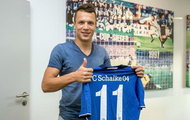 Фото: Євген Коноплянка (FC Schalke 04)