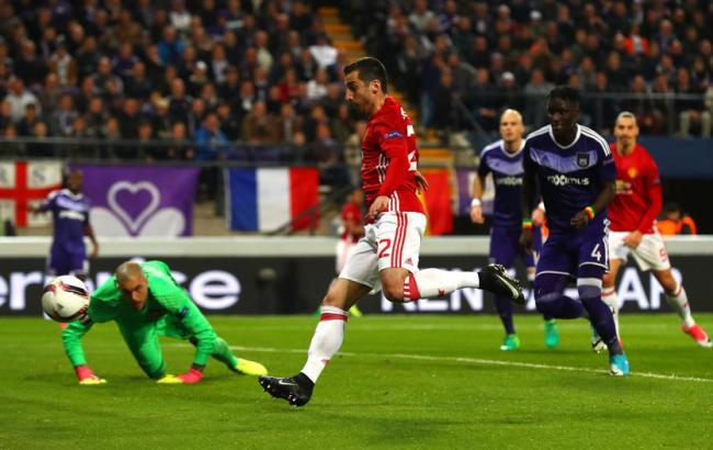 «Манчестер Юнайтед» сыграет ответный матч с«Андерлехтом» в1/16 финалаЛЕ
