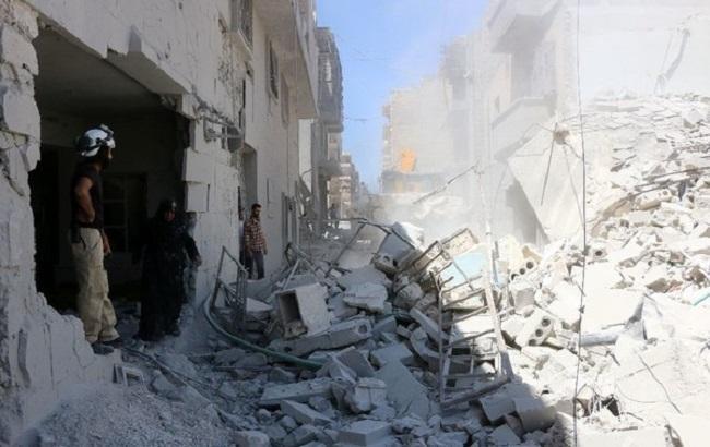 Фото: наслідки атаки по Алеппо