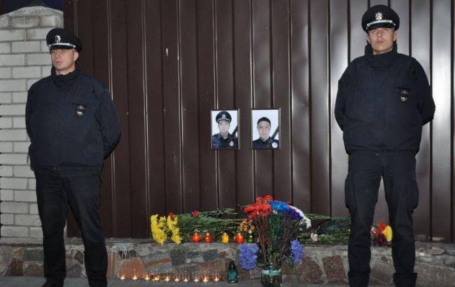 Фото: сегодня Днепр прощается с погибшими полицейскими