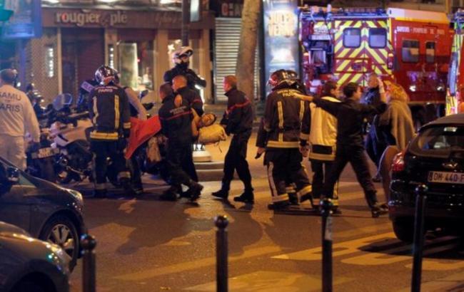 Теракти в Парижі: госпіталізовано 300 осіб
