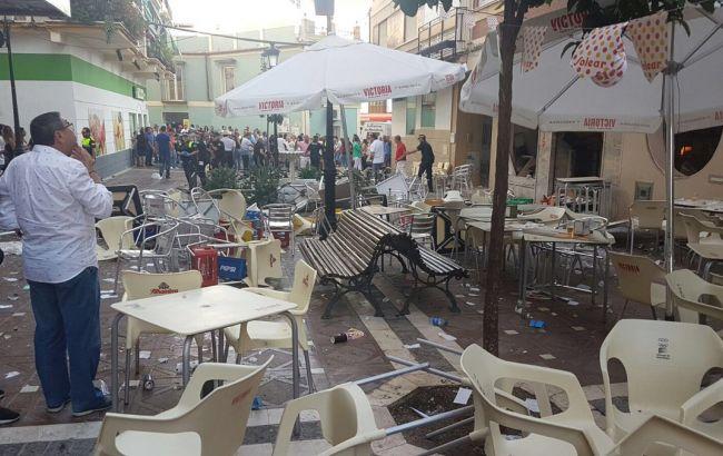 Фото: вибух у кафе в Іспанії