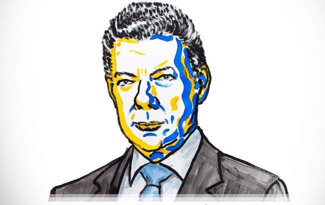 Достижение мира вКолумбии обозначено  Нобелевской премией