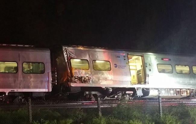 Фото: аварія потяга в США