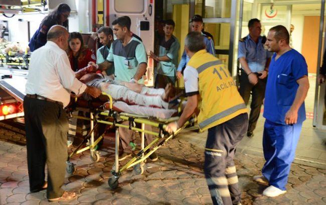 Фото: в результате теракта пострадали несколько десятков людей