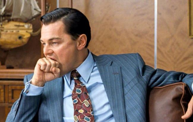 """Фото: Леонардо Ді Капріо у фільмі """"Вовка з Волл-стріт"""" (reddit.com)"""
