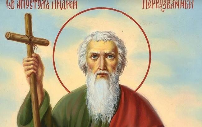 Фото: Икона Апостола Андрея Первозванного (facebook.com/hramvilkovo)