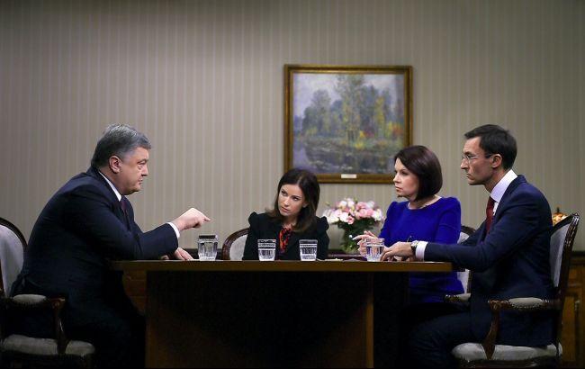 Фото: Петро Порошенко розповів про домовленості нормандської четвірки