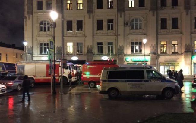 В результаті вибуху на зупинці в Москві постраждали 3 людини