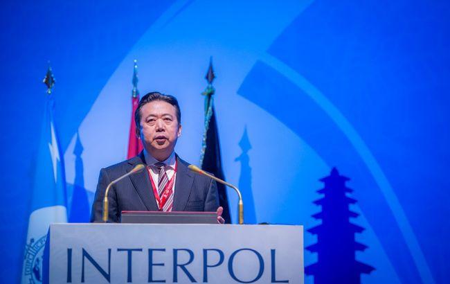 Фото: президент Интерпола Мэн Хунвэй