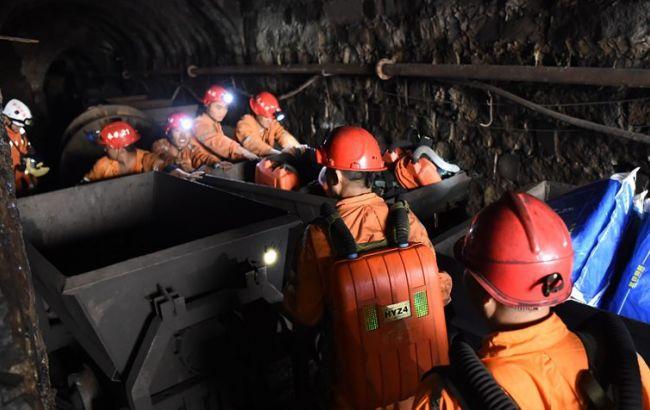 Фото: шахта в Китаї
