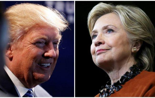 Трамп иКлинтон могут рассчитывать почти наравное количество голосов
