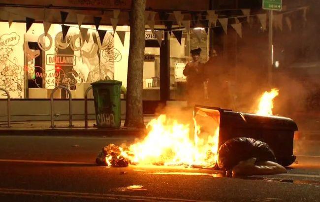 ВКалифорнии начались акции протеста из-за победы Трампа