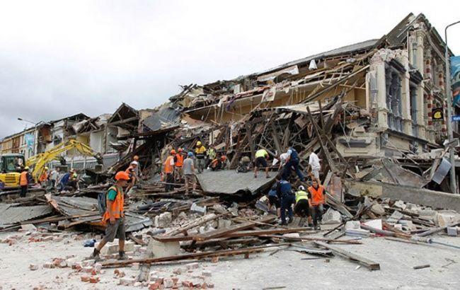 Фото: землетрясение в Новой Зеландии