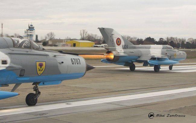 В Румунії розбився винищувач МіГ-21