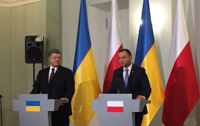 Порошенко и Дуда поручили ускорить строительство газового интерконнектора между странами