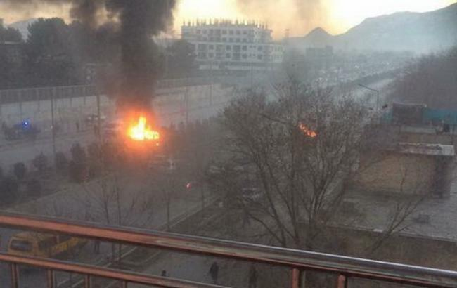 Фото: взрыв в Кабуле