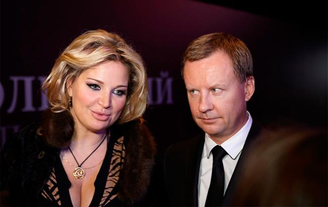 Фото: Максакова и Вороненков