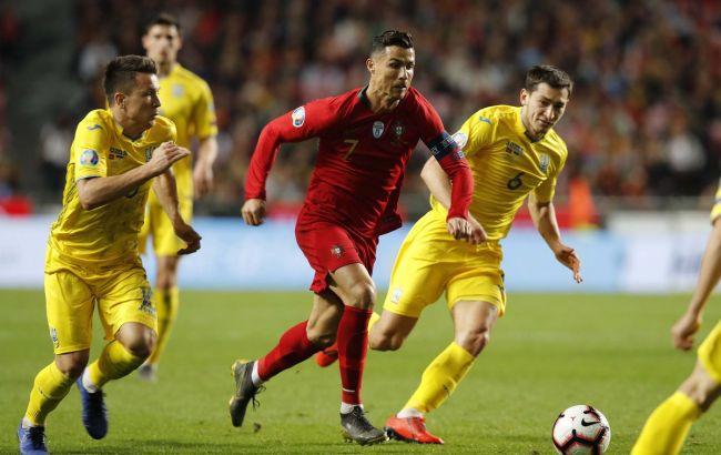 Португалия и Украина разошлись ничьей в матче отбора к Евро-2020