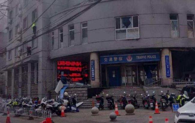 В Китае подорвали бомбу в полицейском участке, есть жертвы
