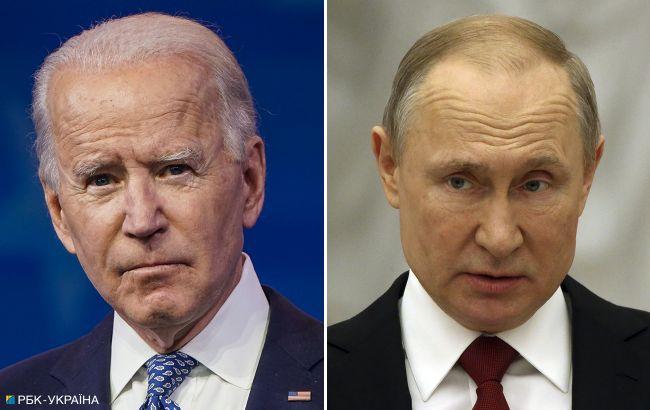 В Кремле заявили, что новые санкции США не поспособствуют встрече Путина и Байдена