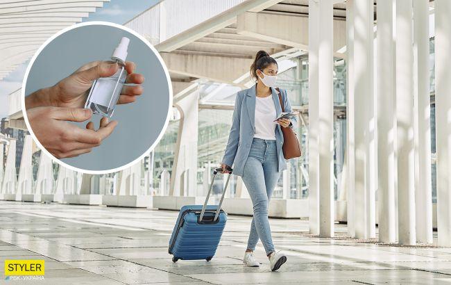 Антисептик перед осмотром в аэропорту применять нельзя: стюардесса рассказала о рисках