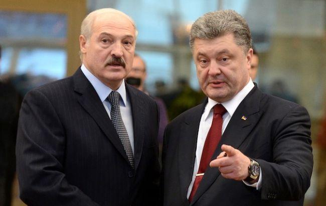Лукашенко і Порошенко