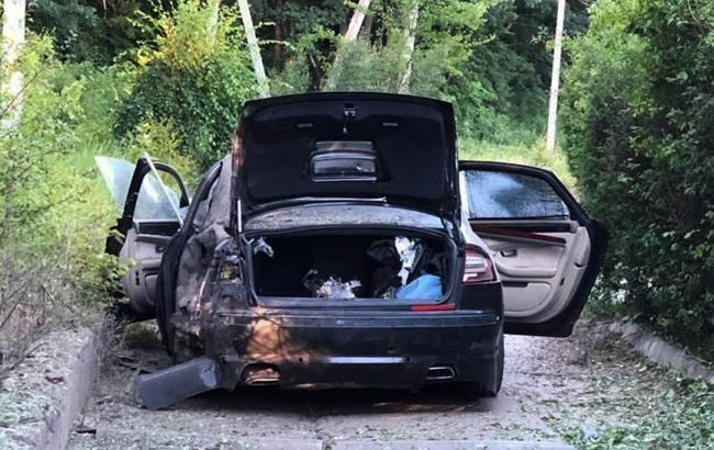 У Харківській області вибухнув автомобіль