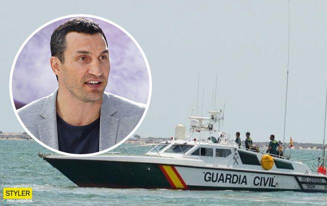 Кличко ледь не загинув під час відпочинку на яхті: відео події