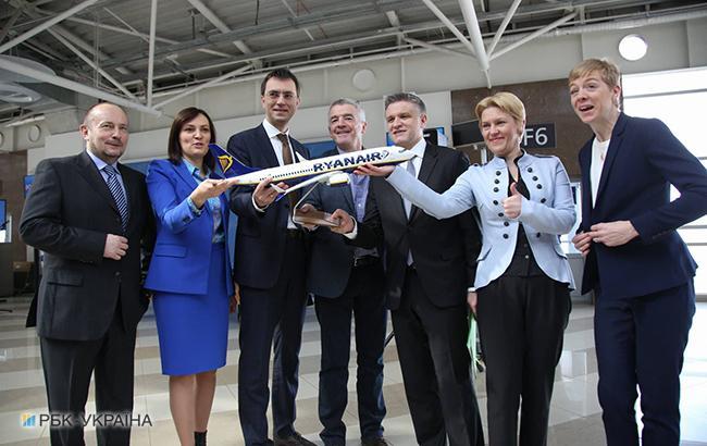 Значна кількість квитків Ryanair в Україні коштуватиме 10 євро