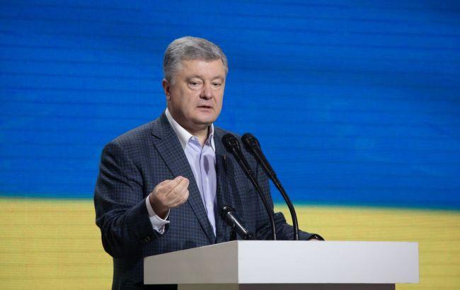 Порошенко назвав терміни затвердження списку своєї партії