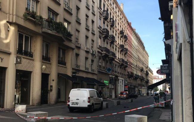 В центре Лиона произошел взрыв