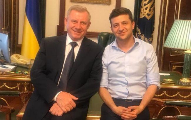 Зеленский и Смолий обсудили важность независимости НБУ