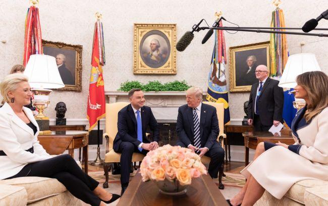 Дуда і Трамп підписали декларацію про розширення військового контингенту США в Польщі