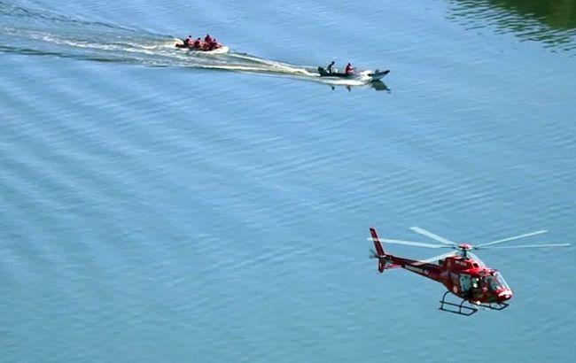 В Рио-де-Жанейро разбился полицейский вертолет