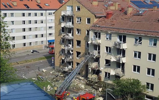 В Швеції пролунав вибух у житловому кварталі